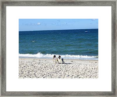 End Of Summer - Cape Cod Framed Print