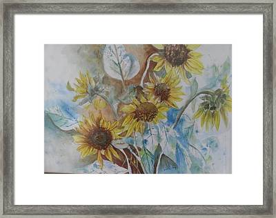 End Of Summer Framed Print