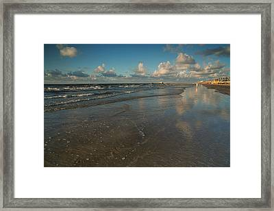 Framed Print featuring the photograph End Of Summer by Sharon Jones
