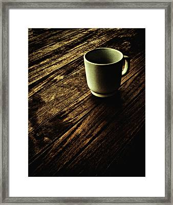 Framed Print featuring the photograph End Of The Day ... by Chuck Caramella