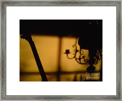 End Of The Day Framed Print by Martin Howard