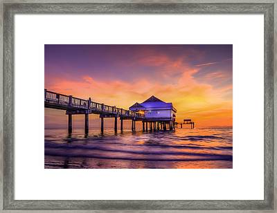 End Of The Day Framed Print