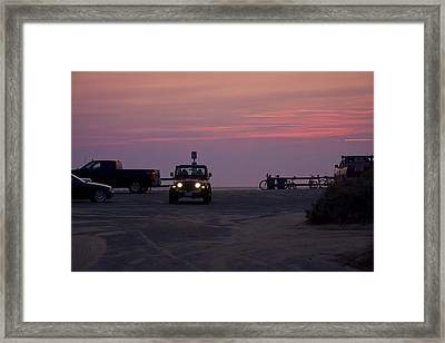 End Of The Day Framed Print by Michael Friedman