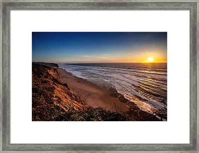 End Of The Day Framed Print by Steven Reed