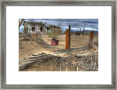 End Of The Dream 2 Framed Print by Bob Christopher