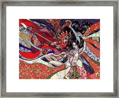 End Of The Fight Framed Print