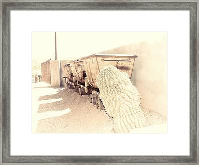 End Of The Line II Framed Print