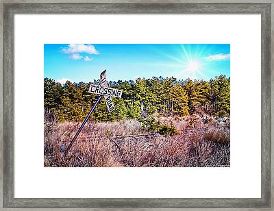 End Of The Line Framed Print by Jessica Cirz