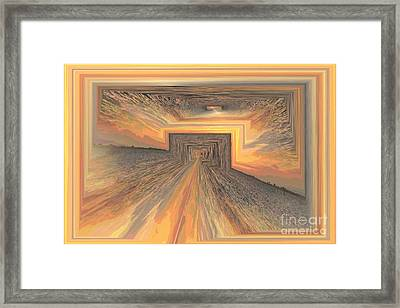 End Of The Line Framed Print