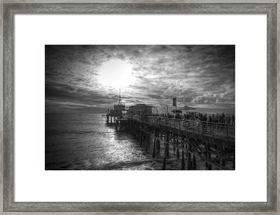 End Of The Pier Framed Print