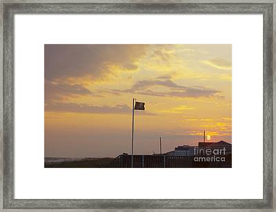 End Of The Pirate Day Framed Print