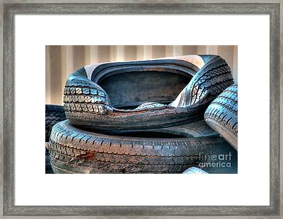 End Of The Road 2 Framed Print
