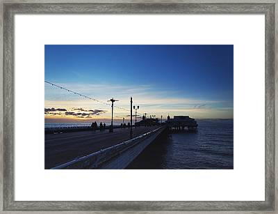 End Of The Season Framed Print