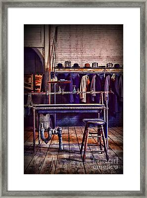 End Of The Shift Framed Print by Paul Ward