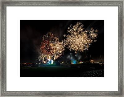 End Of The Show Framed Print