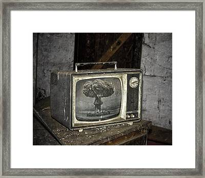 End Of The Show  Framed Print by Jerry Cordeiro