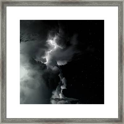 End Of The Storm Framed Print