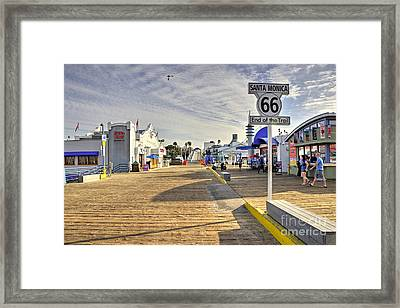 End Of The Trail  Framed Print by Rob Hawkins