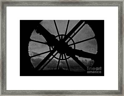End Of Time Framed Print