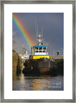 End Of Watch Framed Print by Don Hall