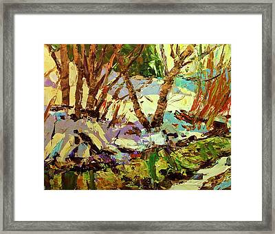 End Of Winter Framed Print