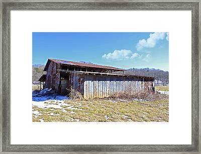 End Of Winter Framed Print by Susan Leggett