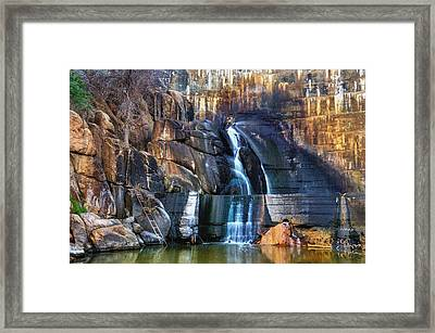 End Of The Trail. Framed Print