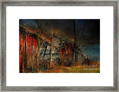 End Times Framed Print by Lois Bryan