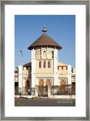 enda Mariam cathedral in asmara eritrea Framed Print