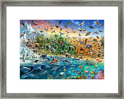Endangered Species Framed Print