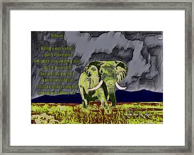 Endeavor  Framed Print
