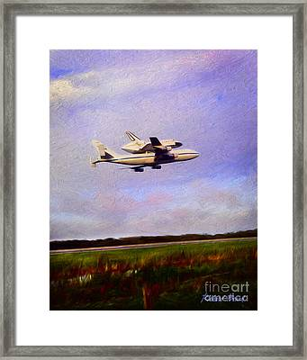 Endeavour The Final Flight Framed Print