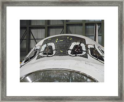Endeavour Waits Framed Print by Michael Knight