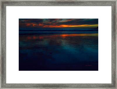 Ending Reflections Framed Print