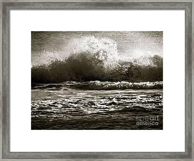 Endings Framed Print by Q's House of Art ArtandFinePhotography