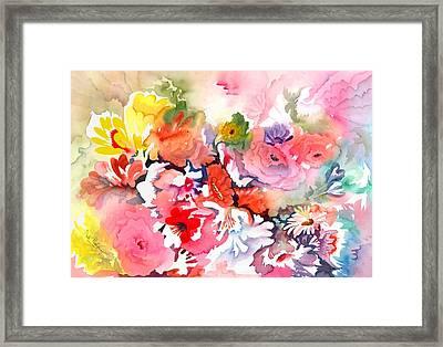 Endless Blossoms Framed Print