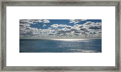 Endless Clouds I Framed Print