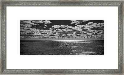 Endless Clouds II Framed Print