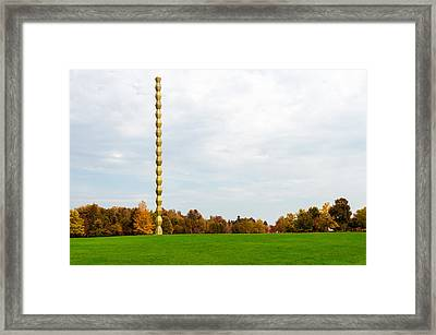 Endless Column  Framed Print by Ion George