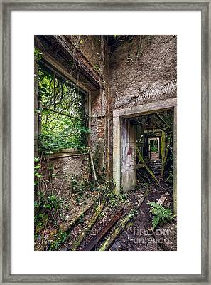 Endless Decay Framed Print