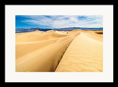 Dunes Photographs Framed Prints