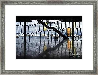 Endless Illusion Framed Print