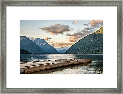 Endless Lake Framed Print
