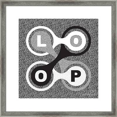 Endless Loop Framed Print by Igor Kislev