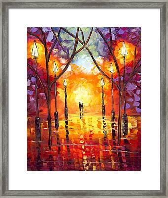 Endless Love Framed Print by Jessilyn Park