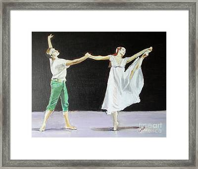 Endless Love Framed Print by Judy Kay