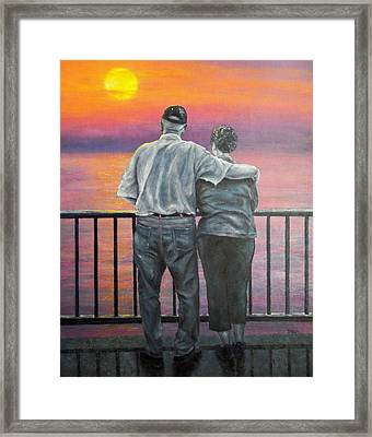 Endless Love Framed Print by Susan DeLain
