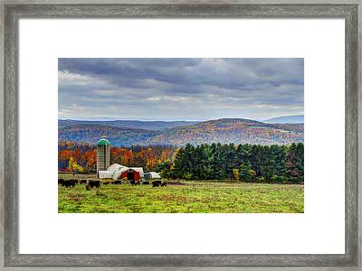 Endless Mountains Framed Print by David Simons