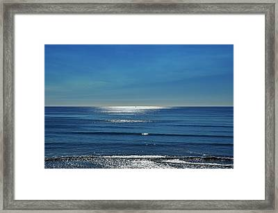 Endless Ocean  Framed Print