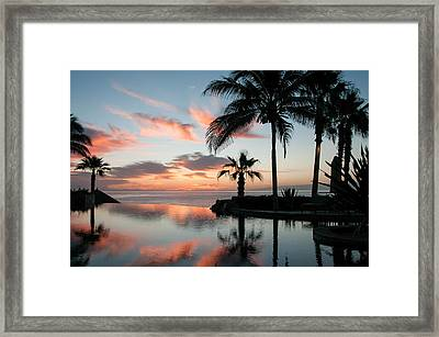 Endless Pool Framed Print